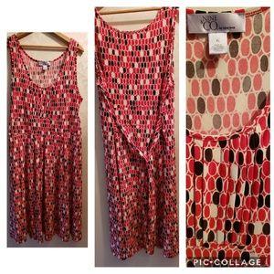 Nine Co knee length dress XL